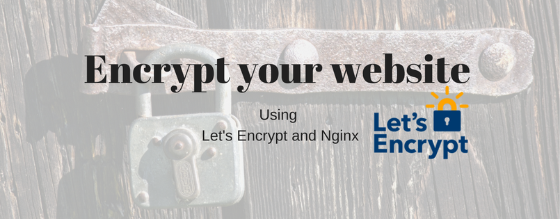 Setting up HTTPS on Nginx using Let's Encrypt – Datadriven